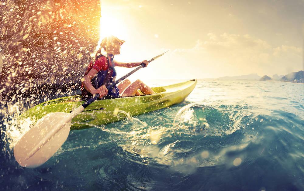 Canarias, ideal para navegar en kayak